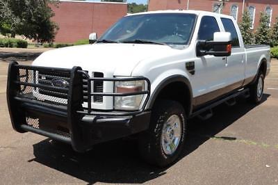 2009 Ford F-250 Lariat FX4 HEATED LEATHER SEATS Tow Command TURNOVER BALL Pwr Pedals & RR Window 6CD 18s