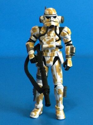 """Star Wars The Force Unleashed Imperial EVO Trooper Stormtrooper 3.75"""" Toys R Us"""