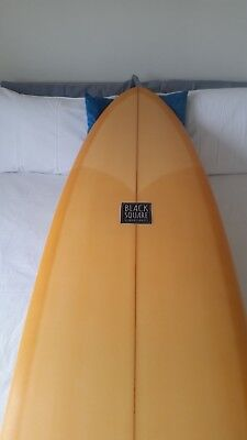 Black Square surfboard