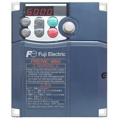 FUJI Electric Frenic Mini FRN005C2S-4U Variable Frequency Drive, 2 HP, 380-480V