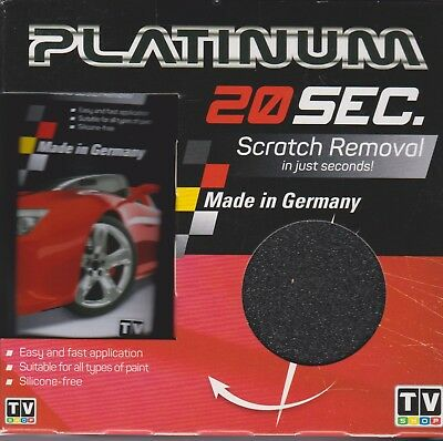 20 Sec Platinum SCRATCH REMOVAL Silicone free Weather resistant - FREE SHIP Aus