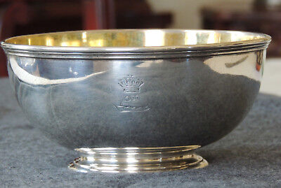 Antique Victorian Sterling Silver Bowl, Robert Garrard II, London, 1870