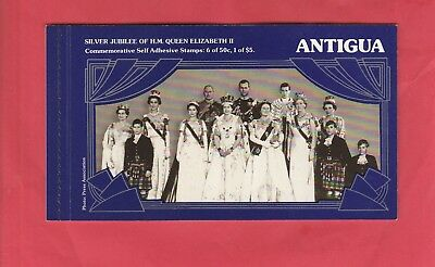 MUH Booklet from Antigua. Silver Jubilee of Her Majesty The Queen. 1952-1977.