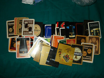 71 Guinness Beer Playing Cards A Nice Display! Frame Them!