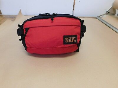Waist pack - Full Moon red and black