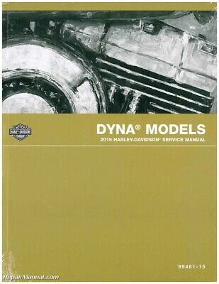2015 Harley Davidson Dyna Official Printed Factory Motorcycle Service Manual ...