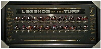 Legends Of The Turf – Makybe Diva Black Caviar Signed Horse Racing Memorabilia