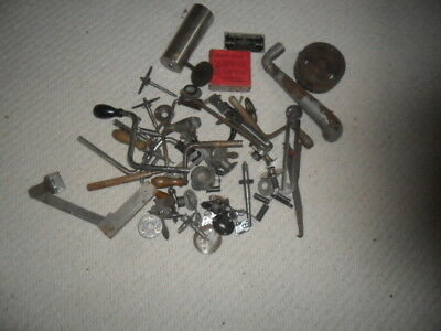 A Collection of original Gramophone & cylinder Phonograph Parts