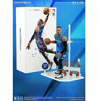 1/9 ENTERBAY Motion Masterpiece - NBA Collection Russell Westbrook Action Figure