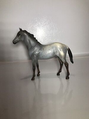 #5Breyer Traditional Horse Color Grey, Brown And White