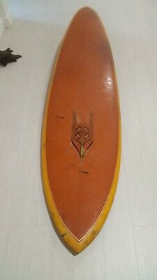 Sky single fin surfboard