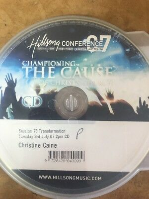 Christine Caine Preaching On Transformation Cd