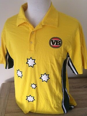 VB Beer Cricket Australia Warnie Men's Shirt Size Small