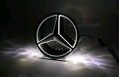 Emblema LED Mercedes Benz 2011 - 2017 Marchio Auto Griglia Anteriore Badge Logo