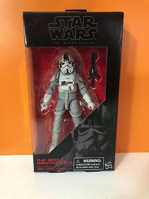 """At-At Driver 31 Star Wars Black Series 6"""" Figure New In Pack (31D)"""