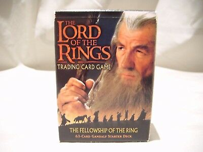 The Lord Of The Rings Trading Card Game 63-Card Gandalf Starter Deck Fellowship