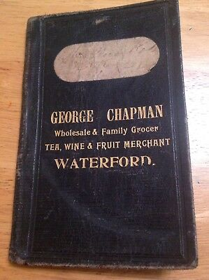 Antique Note Book. Waterford Island