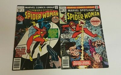 Marvel Spotlight #32 (Feb 1977, Marvel), G, Spider Woman 1, VG, 1st Prints