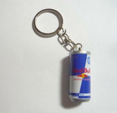 "RED BULL CAN Fun KEYCHAIN Keyring Novelty Indonesia 3D 1.5"" Acrylic"