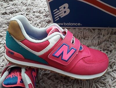 New Balance 574 Womens Girls Trainers Sports Shoes Size Uk 6 Lightweight Pink