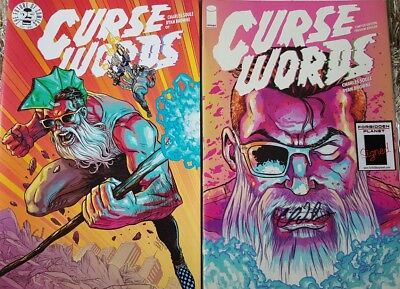 Curse Words #1 Ashcan Signed Soule & blind box Variant Image Comics