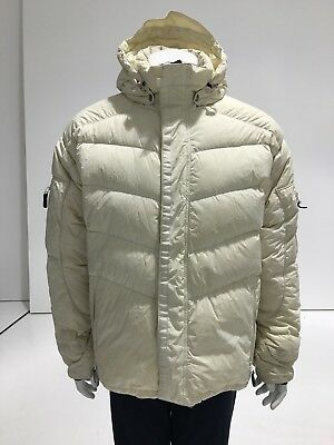 Oakley Snowboard Oversize Goose Down Puffer jacket White mens M good condition