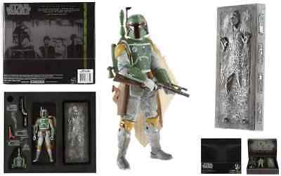 Star Wars Black Series Han Solo In Carbonite With Boba Fett 2013 Sdcc Exclusive.