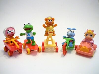 McDonalds Muppet Babies Happy Meal Toys - Set of 5
