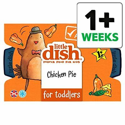 Little Dish Chicken & Butternut Squash Pie for Toddlers 200g