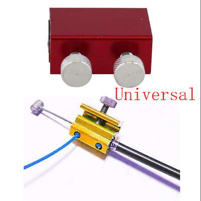 Red Aluminum Motorcycles Cable Lubricator Tool Brake Clutch Luber Oiler 2 Bolts