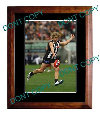 Dale Thomas Collingwood Magpies Fc Star Large A3 Photo