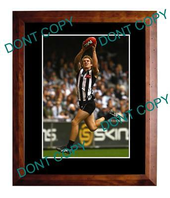 Dayne Beams Collingwood Fc Star Large A3 Marking Photo
