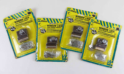 Whitco Window Locks (4x) for Awning / Casement Windows NOS