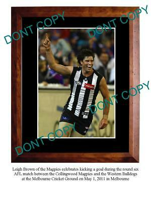 Leigh Brown 2011 Collingwood Fc Star A3 Photo Print