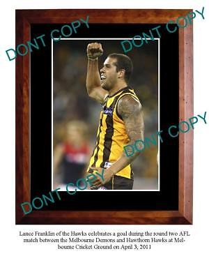 Lance Franklin Hawthorn Fc Star Large A3 Photo Print 3