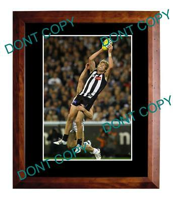 Dale Thomas Collingwood Fc Star Large A3 Mark Photo 1