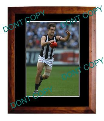 Steele Sidebottom Collingwood Fc Star Large A3 Photo
