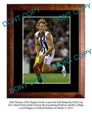 Dale Thomas Collingwood Fc Star Large A3 Photo Print 5