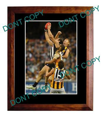 Travis Cloke Collingwood Fc Star Large A3 Marking Photo