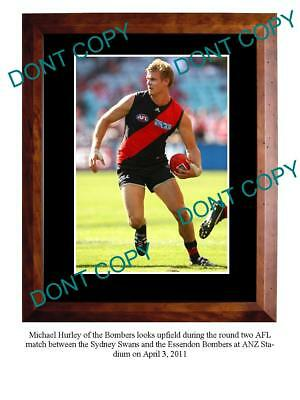 Michael Hurley Essendon Fc Star Large A3 Photo Print 1