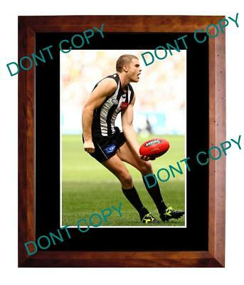Heath Shaw Collingwood Magpies Fc Star Large A3 Photo