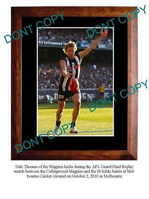 Dale Thomas Collingwood Fc Star Large A3 Photo Print 2