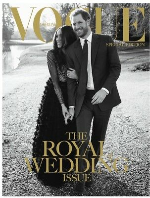 New Vogue Netherlands Royal Wedding Exclusive Edition Prince Harry Meghan Markle