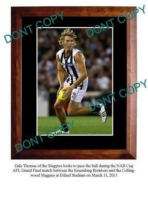Dale Thomas 2011 Collingwood Fc Star A3 Photo Print
