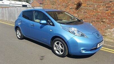 SOLD 2011 Nissan Leaf Fully Electric 64,000 miles Auto FSH BATTERY OWNED