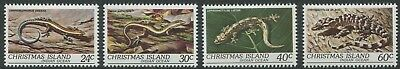 Wildlife: Reptiles 1981 - Mnh Set Of Four (Bl359-Rr)