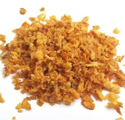 Crispy Fried Onions - Dried golden colour fried onion flakes