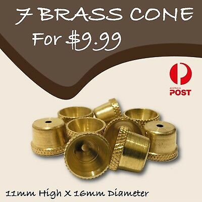 Brass cone piece-brass Tobacco Smoking Pipe- cone pieces-drops-bong-water pipe