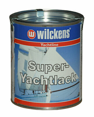 (19,93€/1l) Wilckens Super Yacht-Lack 750ml Metall Holz Farbe - Bootslack