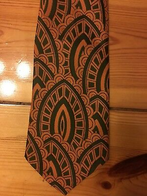 RETRO/VINTAGE Rare MEN'S  Early 70's Tie- Awesome Pattern! ⭐️